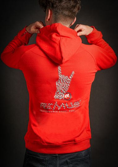 REMUS Hoodie   red