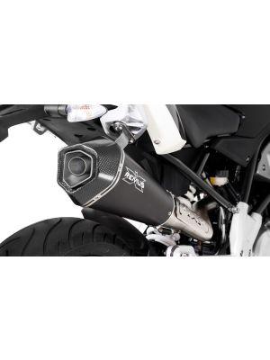 HYPERCONE, complete system, no cat. incl. heat protection shield for BMW G 310 R, stainless steel black, without homologation