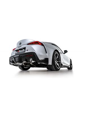 Axle-back-system L/R: Sport exhaust centered with 1 integrated valve, incl. (EEC-) approval