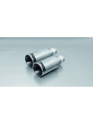 tail pipe set left/right each 1 tail pipe Ø 98 mm Street Race