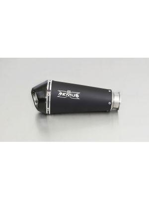 HYPERCONE, slip on, muffler for KTM 1290 Super Duke R, stainless steel black, incl. EC homologation