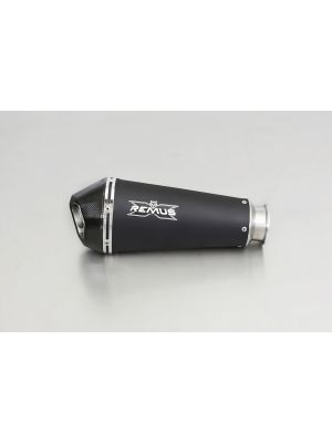 HYPERCONE, slip on (muffler), stainless steel black, EEC