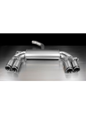 sport exhaust with left/right each 2 tail pipes Ø 84 mm Street Race