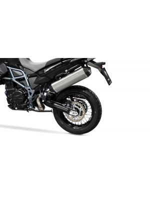 HEXACONE, slip on (muffler) for BMW F 700 GS and F 800 GS Adventure, titanium, incl. EC homologation