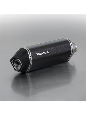 OKAMI, slip on (silencer incl connection tube), no control flap, carbon, no EEC