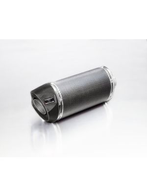 SCOOTER RSC, complete system no heat shield, carbon, 55 mm