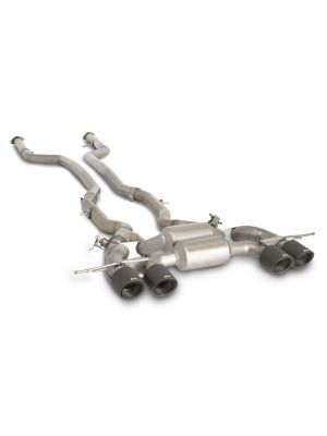 RACING Downpipe-Back-System, NO (EEC-) APPROVAL