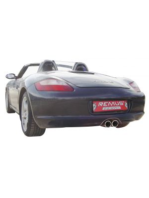 RACING stainless steel sport exhaust system L/R, no catalytic convertor, without homologation