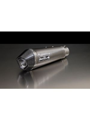 HYPERCONE, complete system (header, racing conntecting tube and rear muffler), titanium, RACE (no EEC), 65 mm