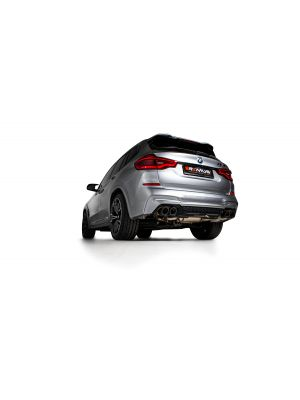 Axle-back-system L/R: RACING sport exhaust, with 2 integrated valves, NO (EEC-) APPROVAL