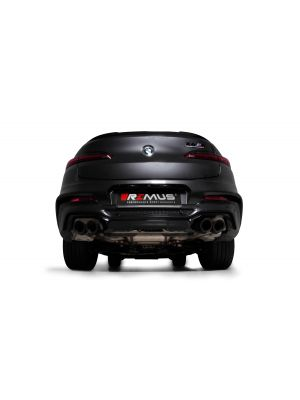 RACING cat-back-system L/R: RACING sport exhaust, with 2 integrated valves, NO (EEC-) APPROVAL