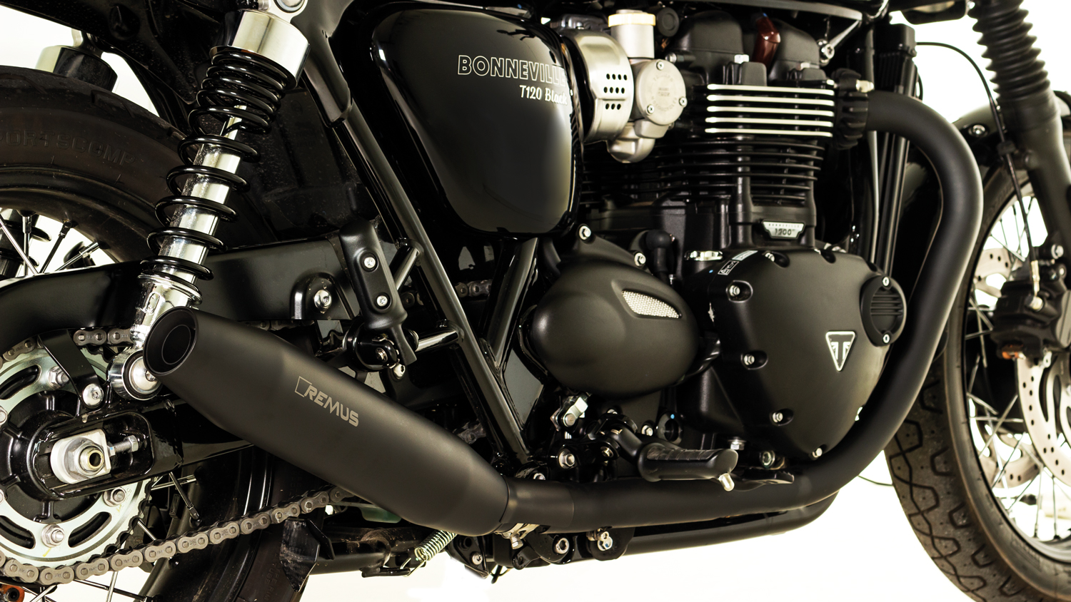Bike Info 20 18 Triumph Bonneville T120 Black My 2018