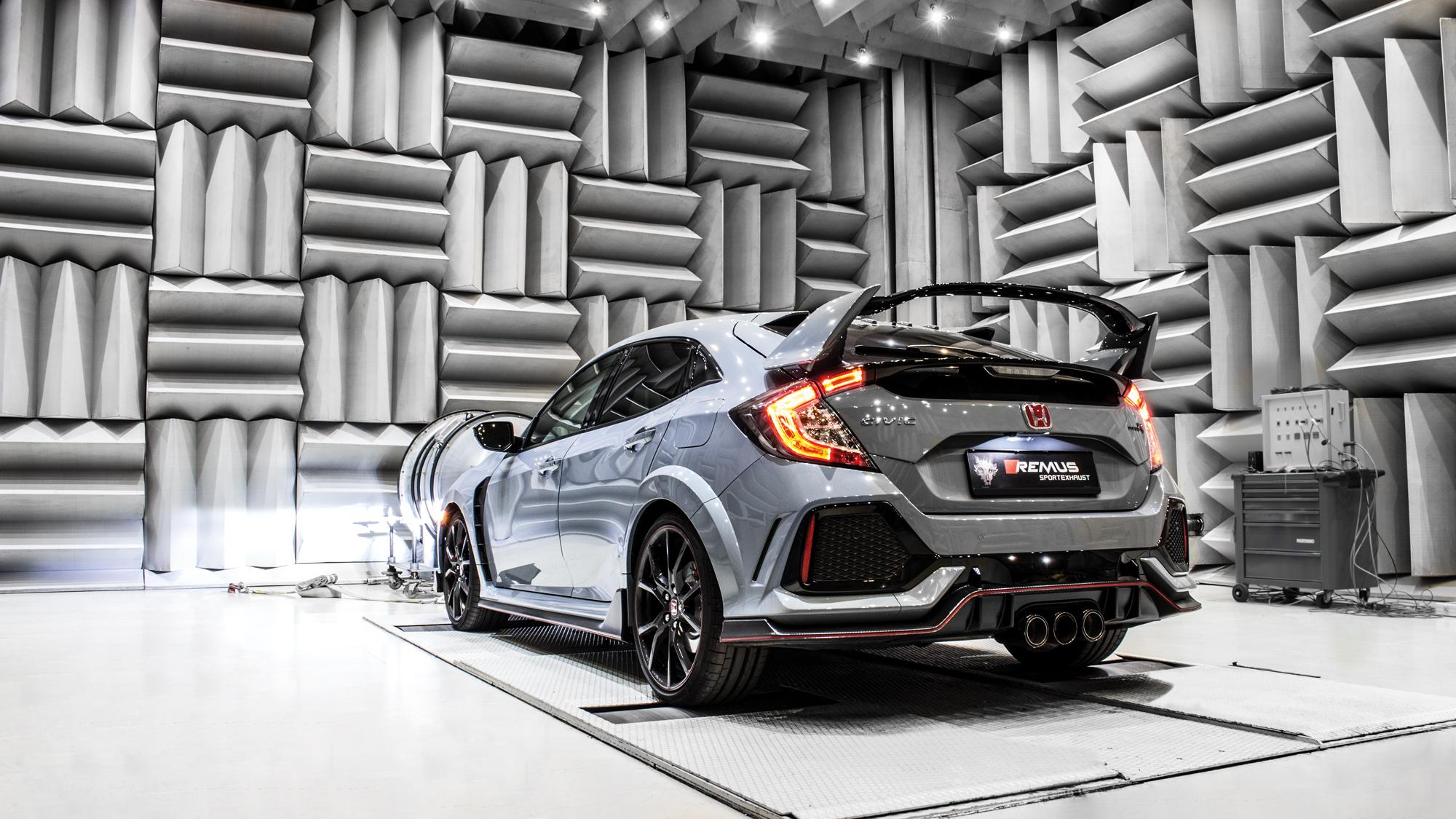 REMUS product information 04-2018 HONDA Civic Type R