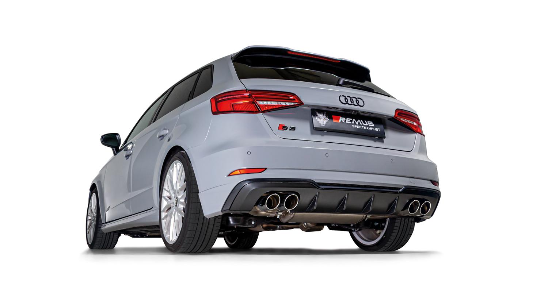 REMUS product information 17-2019 Audi S3 Sportback quattro