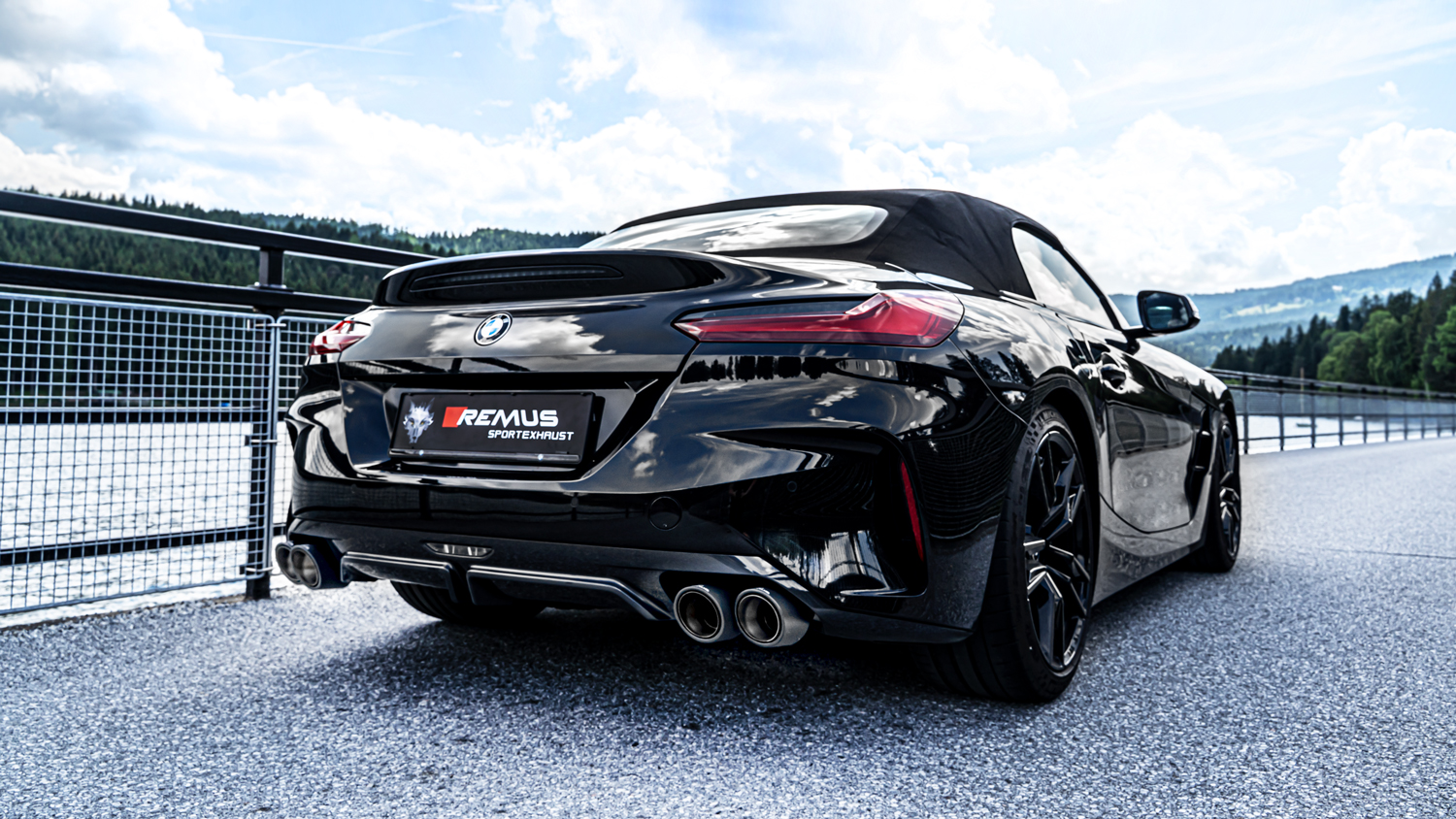 Exhaustssystems Remus Product Information 18 2019 Bmw Z4 M40i Remus