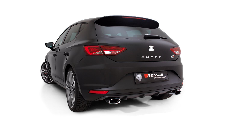 REMUS product information 28-2017 SEAT Leon Cupra VW Golf VII GTI
